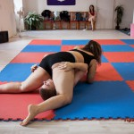 Lucrecia mixed wrestling