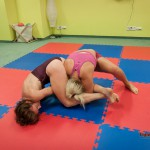 armbar attempts by VeVe
