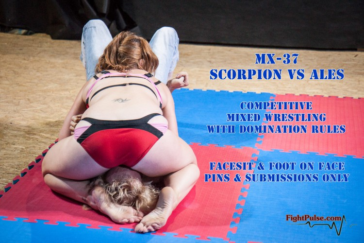 Mixed wrestling with domination rules