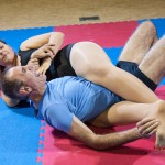 bodyscissor hold by Lucrecia
