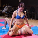 Jane dominant in her next mixed wrestling match