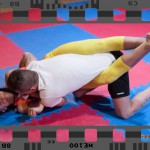 Jane vs Andreas - debut mixed wrestling match full video