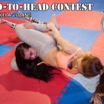 Akela and Jane in a Head-to-Head video