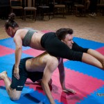 flying acrobatic headscissors by Sky Storm
