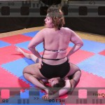 Lucrecia vs Fernando - full competitive mixed wrestling match video