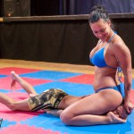 NC-122: Zoe vs Andreas (immobilization onslaught – humiliation finish)